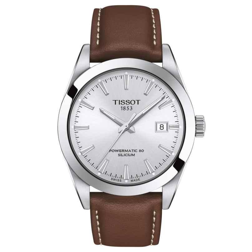 Tissot T127.407.16.031.00 Automatic Watch Gentleman Powermatic 80 Silicium 7611608292716