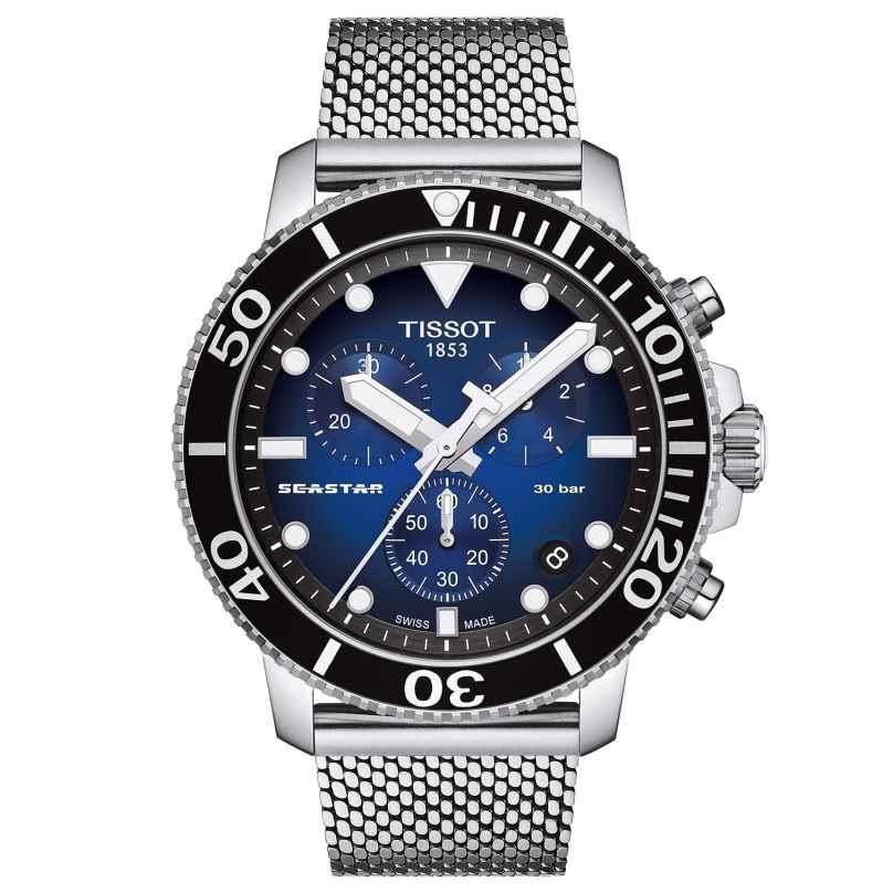 Tissot T120.417.11.041.02 Herren-Taucheruhr Seastar 1000 Chronograph 7611608294956
