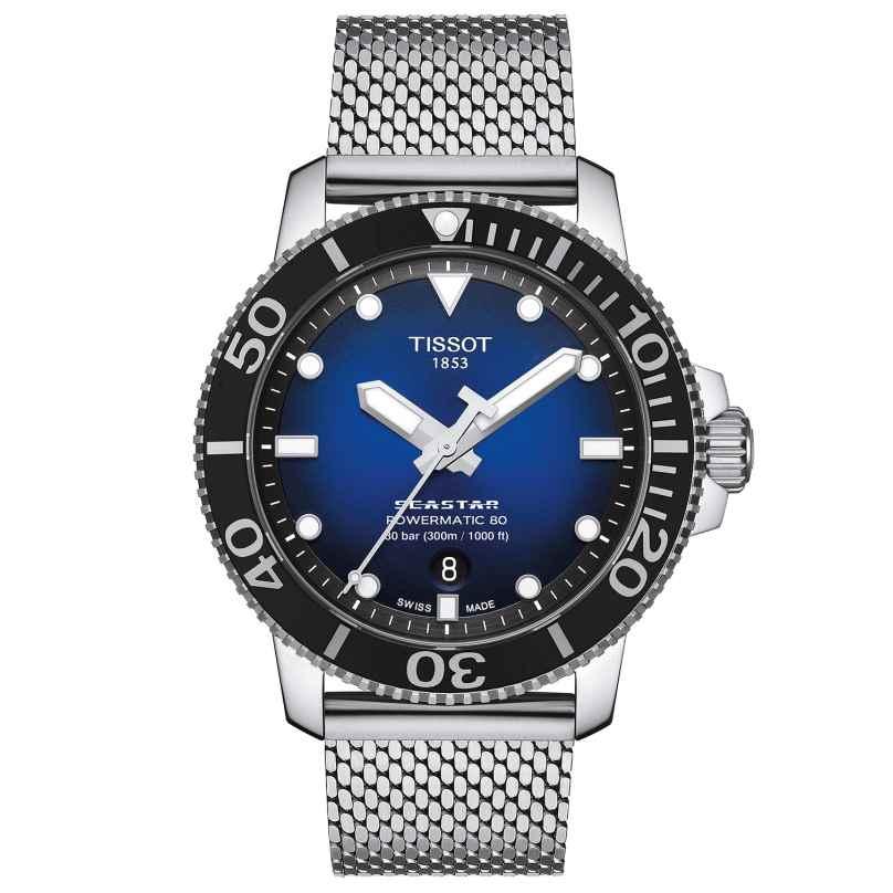 Tissot T120.407.11.041.02 Men's Diver Watch Seastar 1000 Powermatic 80 Blue 7611608294970
