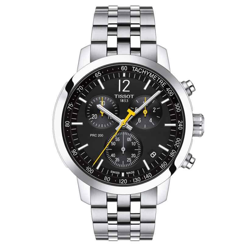 Tissot T114.417.11.057.00 Herren-Armbanduhr PRC 200 Chronograph Schwarz 7611608293522