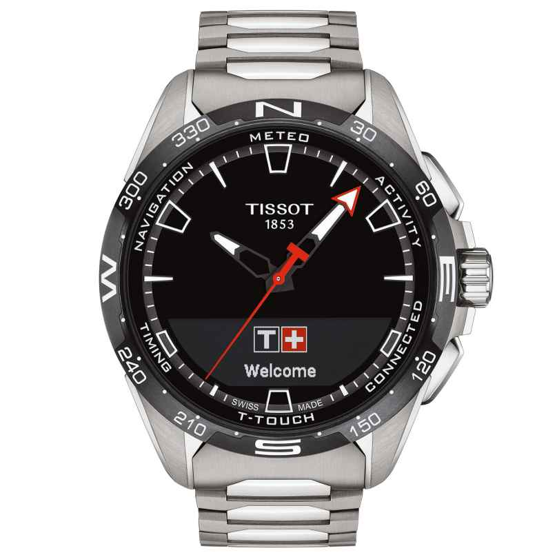 Tissot T121.420.44.051.00 Men's Watch T-Touch Connect Solar Titanium 7611608293560