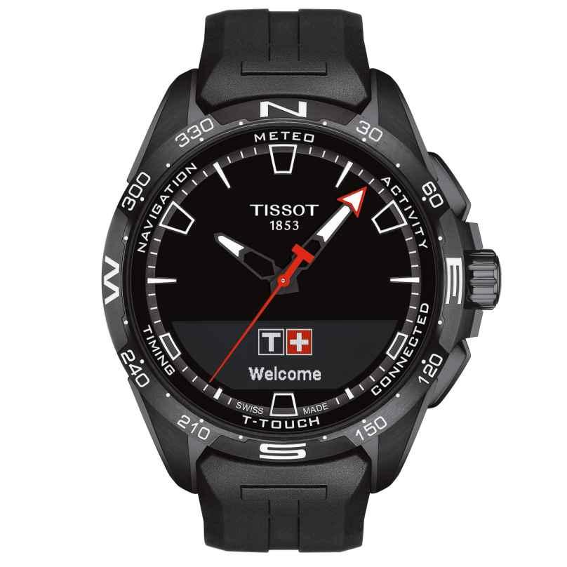 Tissot T121.420.47.051.03 Herren-Armbanduhr T-Touch Connect Solar Schwarz 7611608293607