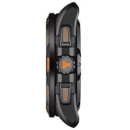 Tissot T121.420.47.051.04 Herrenuhr T-Touch Connect Solar Schwarz/Orange