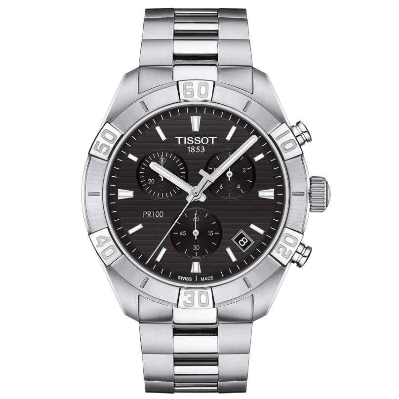 Tissot T101.617.11.051.00 Herrenuhr PR 100 Sport Chronograph Quarz 7611608297919