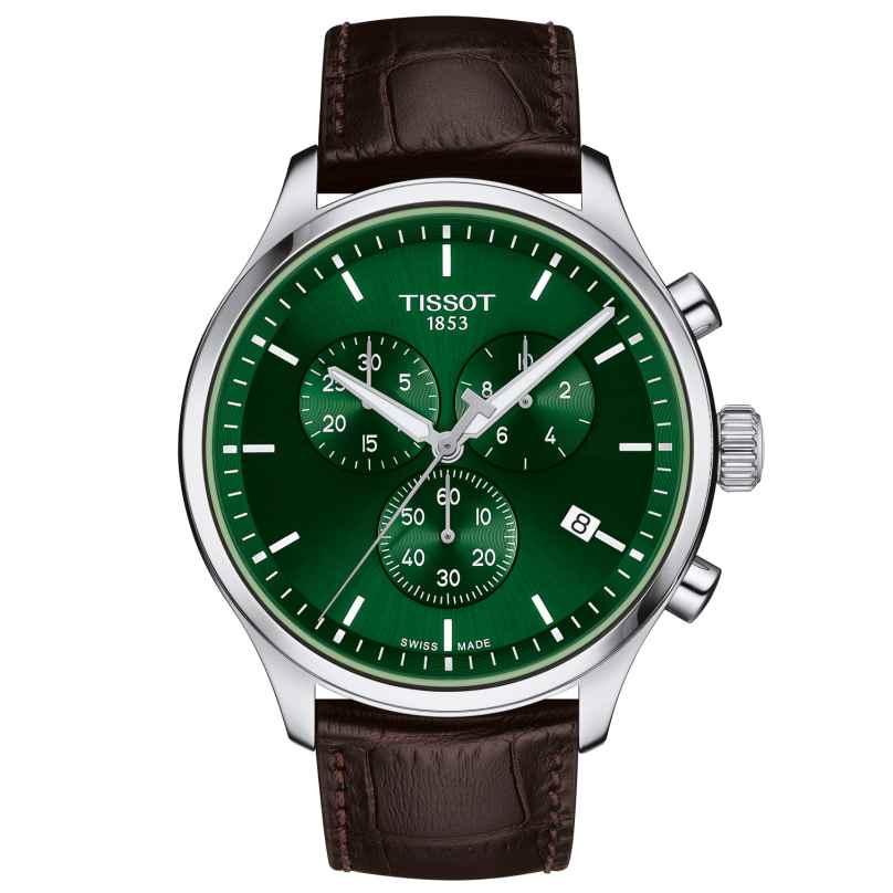 Tissot T116.617.16.091.00 Herrenuhr Chrono XL Classic Braun/Grün 7611608297377