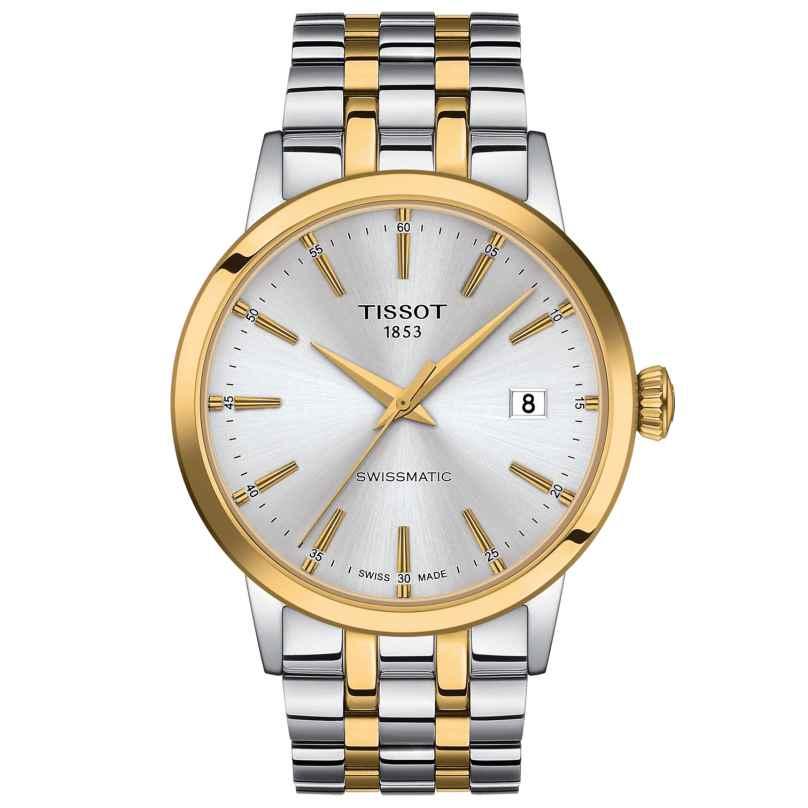 Tissot T129.407.22.031.01 Men's Automatic Watch Classic Dream Two-Colour 7611608295496