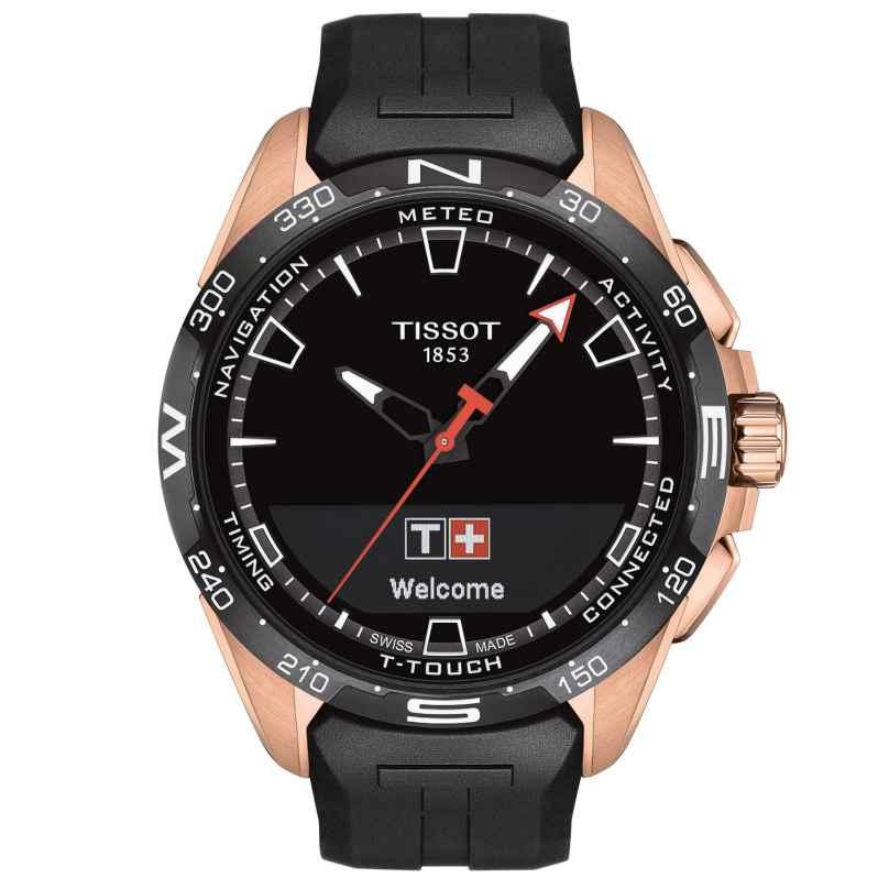 Tissot T121.420.47.051.02 Herrenuhr T-Touch Connect Solar Schwarz/Roségold 7611608293591