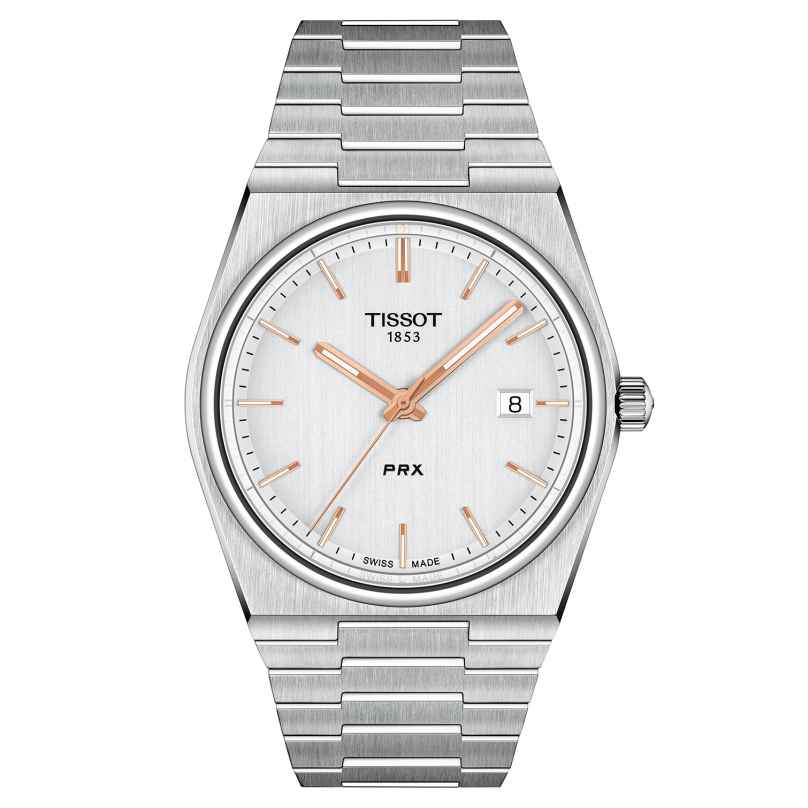Tissot T137.410.11.031.00 Men's Watch PRX 40 205 Two-Colour 7611608298602