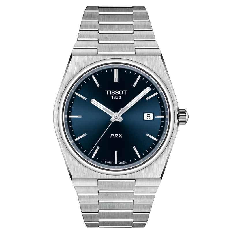 Tissot T137.410.11.041.00 Men's Watch PRX 40 205 Dark Blue 7611608298589