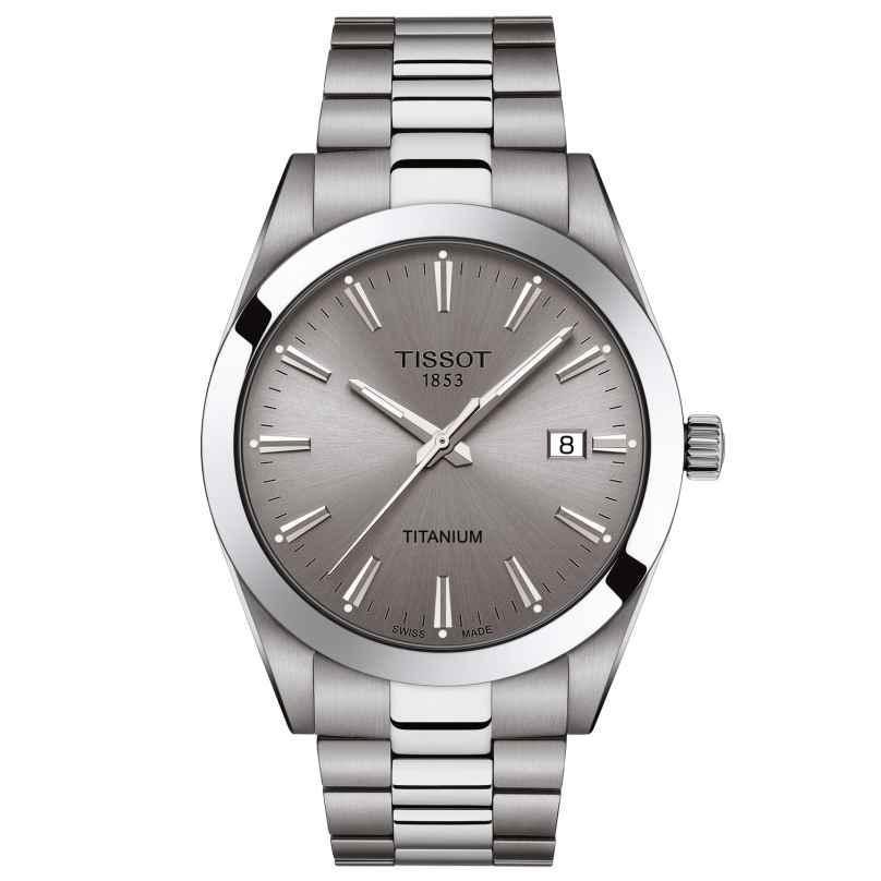 Tissot T127.410.44.081.00 Men's Watch Gentleman Titanium Grey 7611608298640