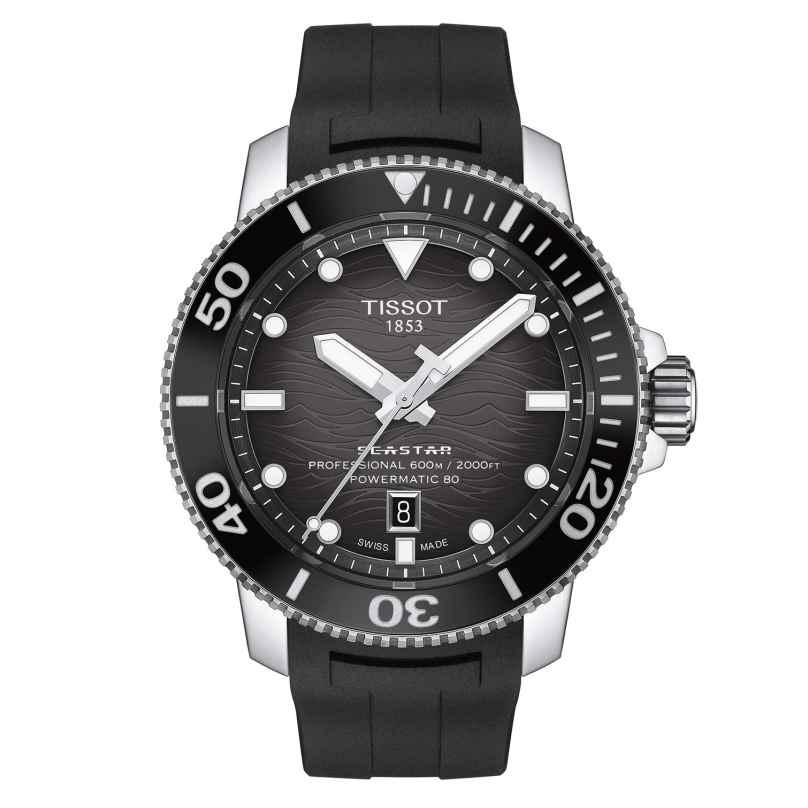 Tissot T120.607.17.441.00 Herren-Taucheruhr Seastar 2000 Professional Schwarz 7611608300237