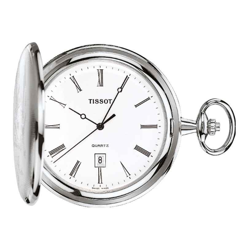 Tissot T83.6.508.13 Pocket Watch Savonette Quartz 7611608016787