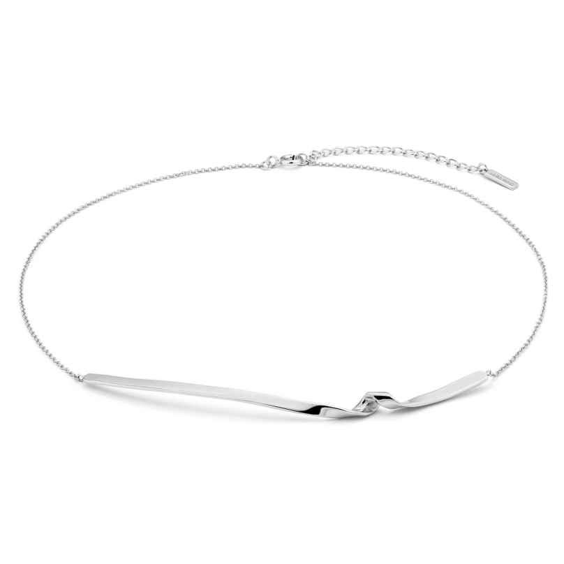 Ania Haie N012-03H Silver Women's Necklace Twist 5052469205828