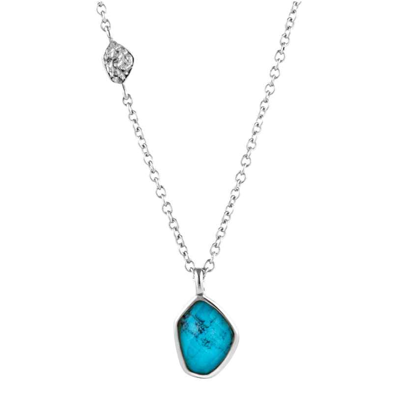 Ania Haie N014-02H Silver Ladies´ Necklace Turquoise 5052469000430