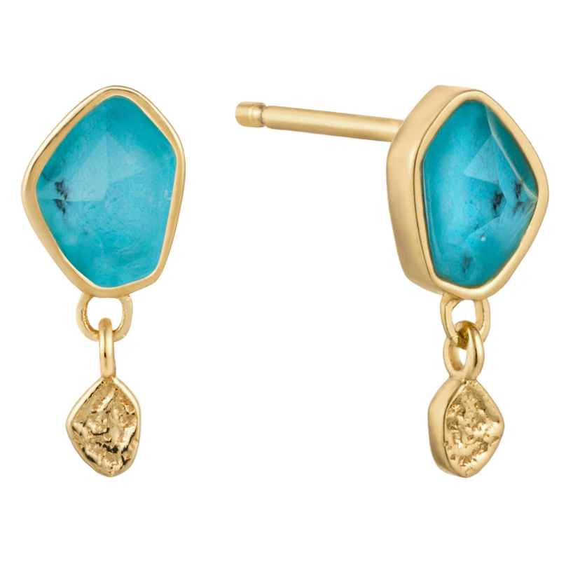Ania Haie E014-01G Damen-Ohrstecker Ohrringe Turquoise Drop 5052469000300