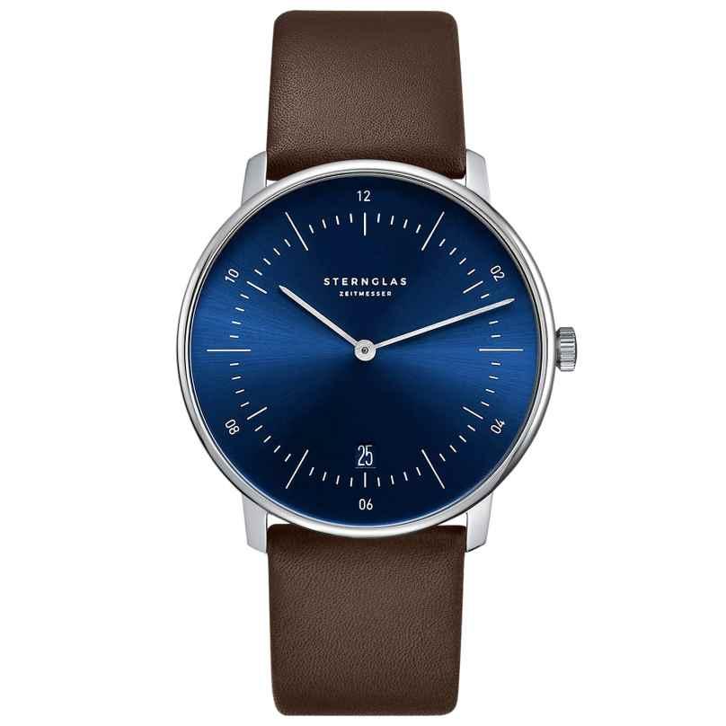 Sternglas SNQ21/104 Quartz Wristwatch with Sunray Cut Naos 4260493152877