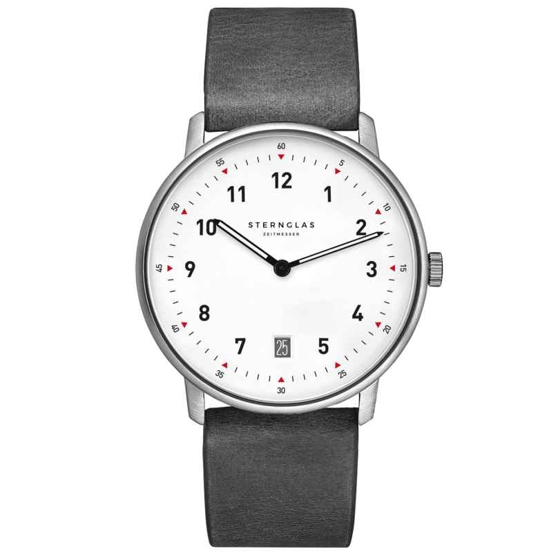 Sternglas STR01/311 Quartz Watch Tero Limited Edition Grey / White 4260493153966