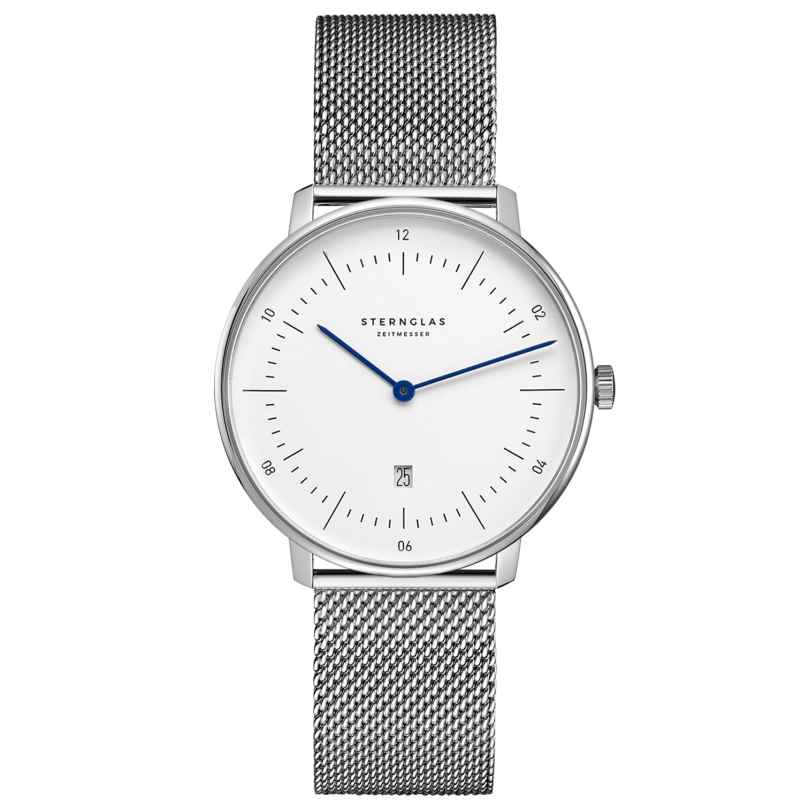 Sternglas SND01/400 Ladies' Watch Naos XS silver tone 4260493154352