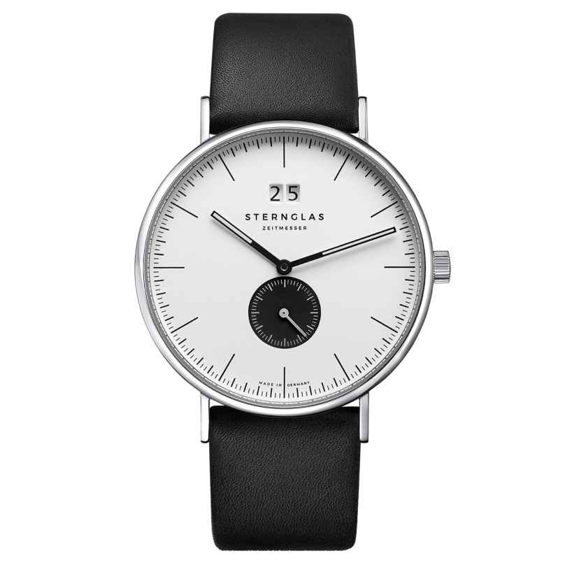 Sternglas SIV03/108 Men's Watch Quartz Ivo Black 4260493154413