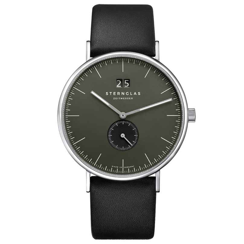 Sternglas SIV51/108 Herren-Armbanduhr Quarz Ivo Schwarz/Grün 4260493154536