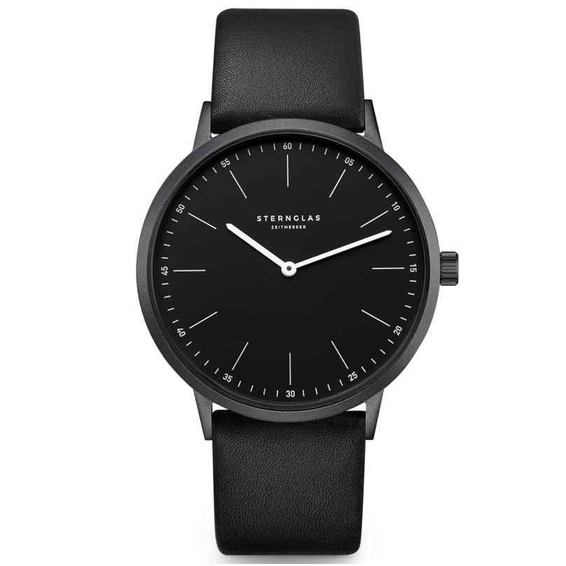 Sternglas S01-MO05-PR15 Men's Watch Aluminium Modesto Black 4260493155786