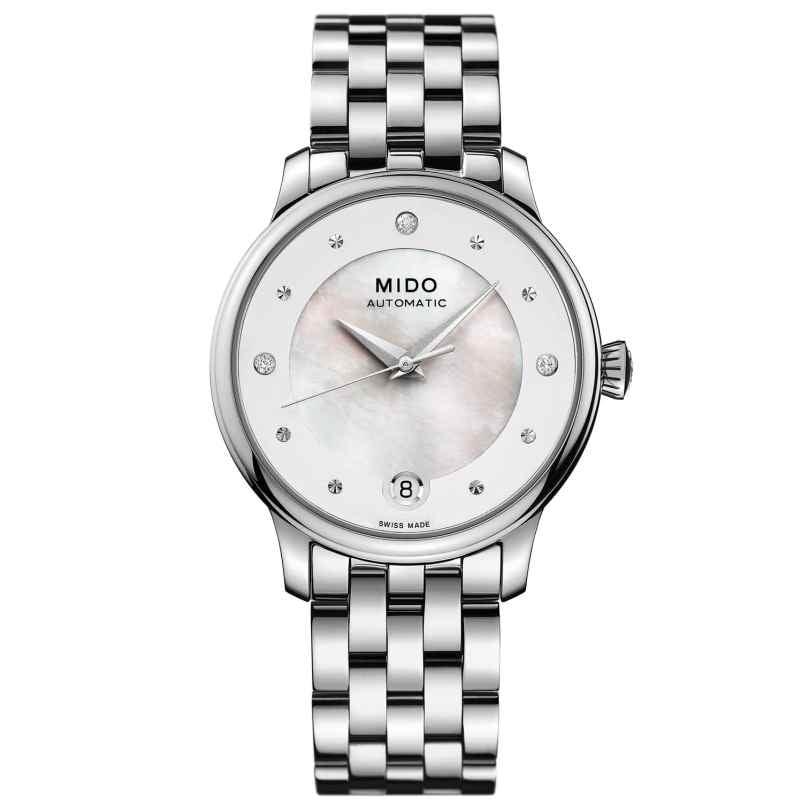 Mido M039.207.11.106.00 Automatik Damenuhr Baroncelli Lady Day 7612330136460