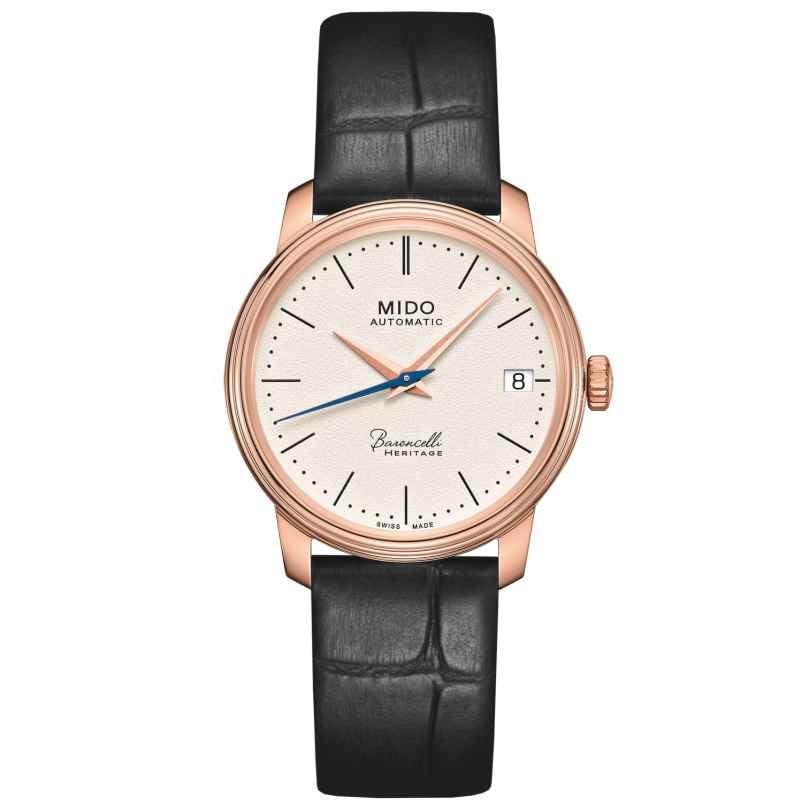 Mido M027.207.36.260.00 Automatic Women's Watch Baroncelli Heritage Lady 7612330132332