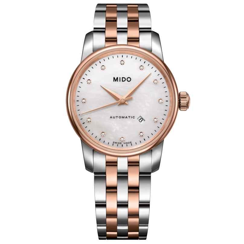 Mido M7600.9.69.1 Damen-Automatikuhr Baroncelli 7612330121794