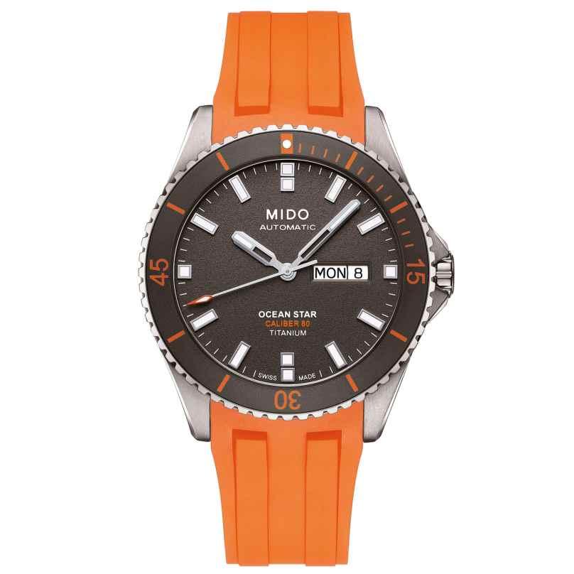 Mido M026.430.47.061.00 Herren-Armbanduhr Automatik Ocean Star Titan 7612330134305