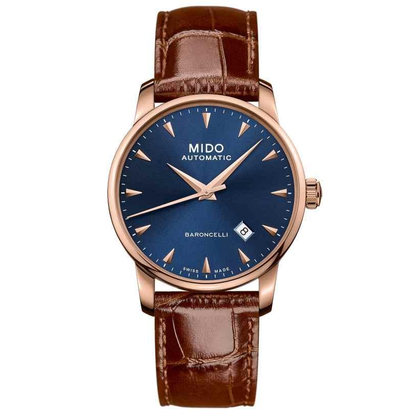 Mido M8600.3.15.8 Herren-Automatikuhr Baroncelli Midnight Blue Gent 7612330137788