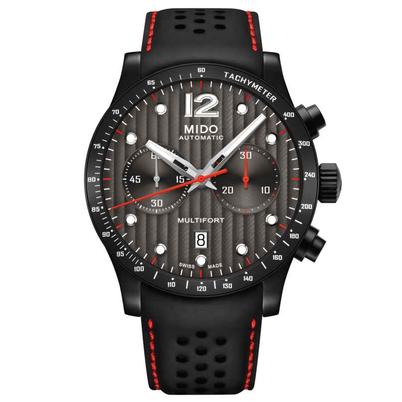 Mido M025.627.36.061.00 Men's Automatic Watch Multifort Chronograph 7612330130857