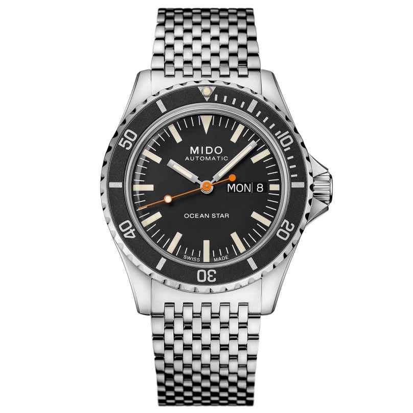 Mido M026.830.11.051.00 Taucheruhr Automatik Ocean Star Tribute Schwarz 7612330138037