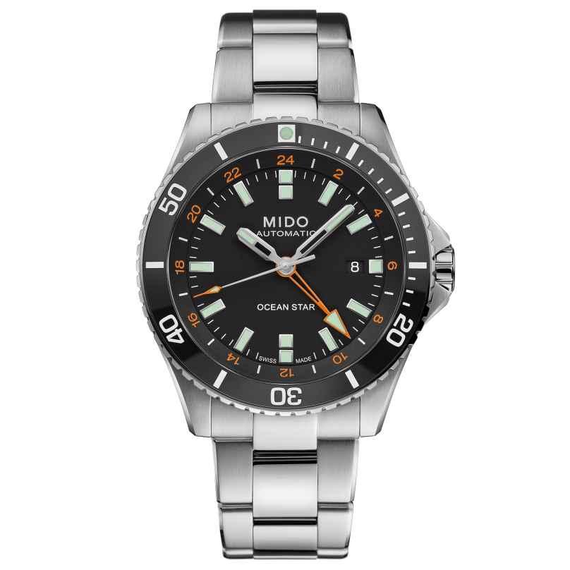 Mido M026.629.11.051.01 Taucheruhr Automatik Ocean Star GMT Schwarz 7612330138648