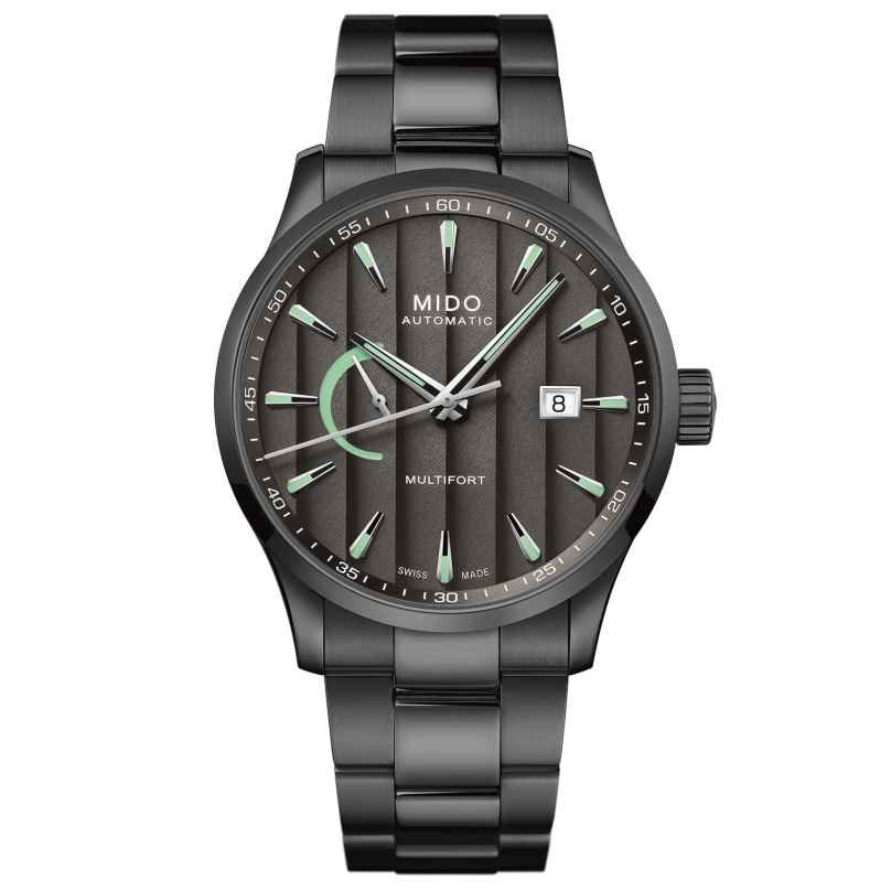 Mido M038.424.33.061.00 Automatikuhr Multifort Power Reserve Anthrazit 7612330138822