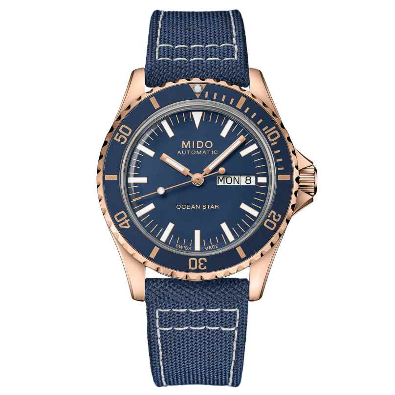 Mido M026.830.38.041.00 Taucheruhr Automatik Ocean Star Tribute Blau 7612330139805