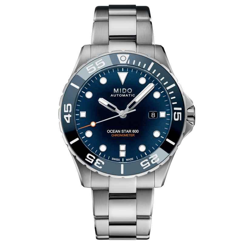 Mido M026.608.11.041.01 Automatik-Taucheruhr für Herren Ocean Star 600 Blau 7612330139744