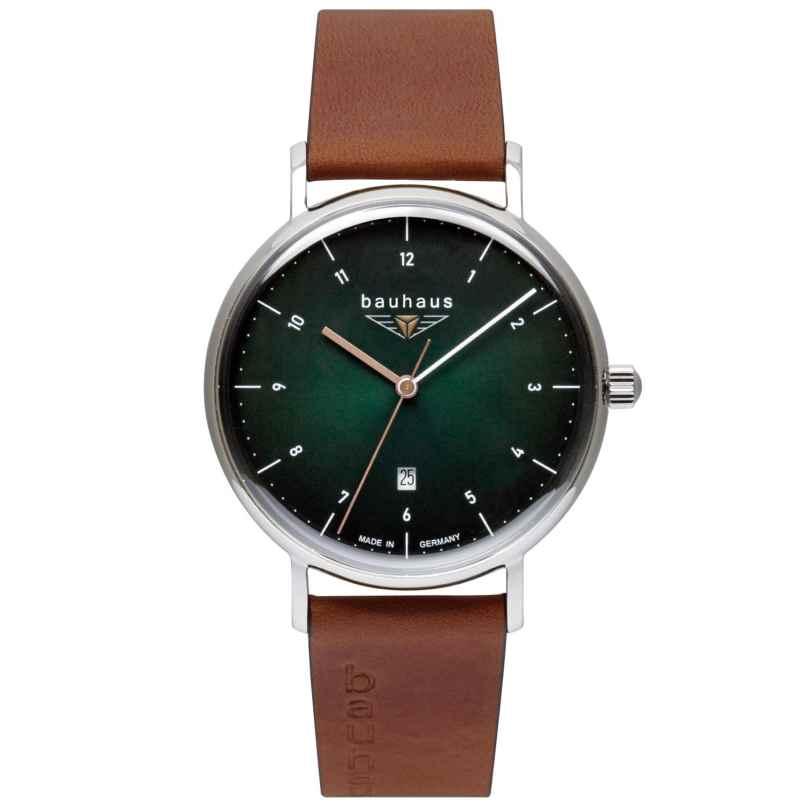 Bauhaus 2140-4 Herren-Armbanduhr Grün 4041338214048