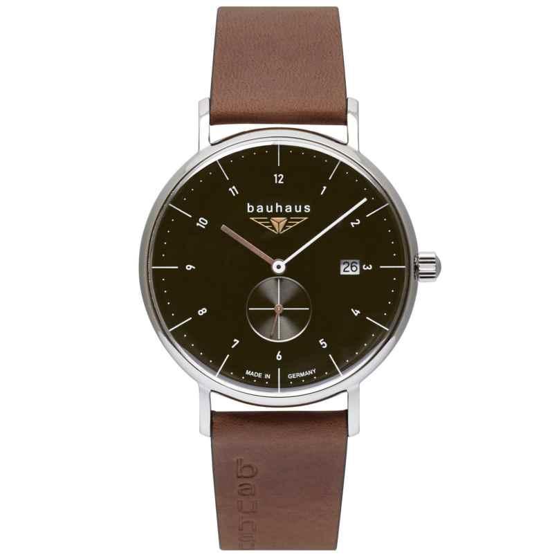 Bauhaus 2132-2 Herren-Armbanduhr Anthrazit 4041338213225