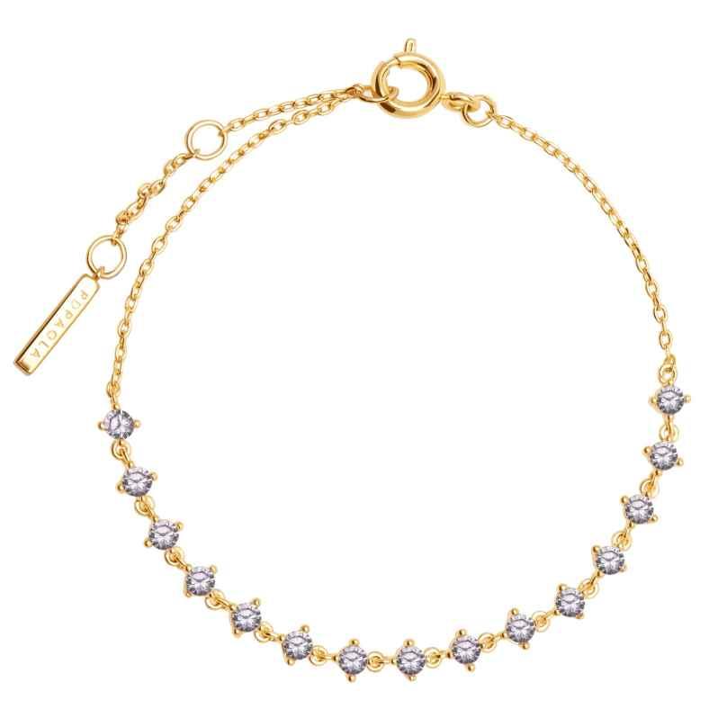 P D Paola PU01-108-U Women's Bracelet Victoria Gold Plated Silver 8435511715808