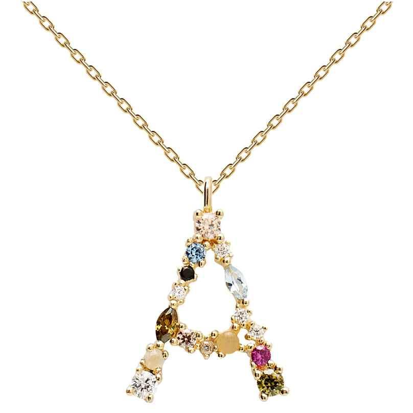 P D Paola CO01-096-U Damen-Halskette Buchstabe A 8435511709364