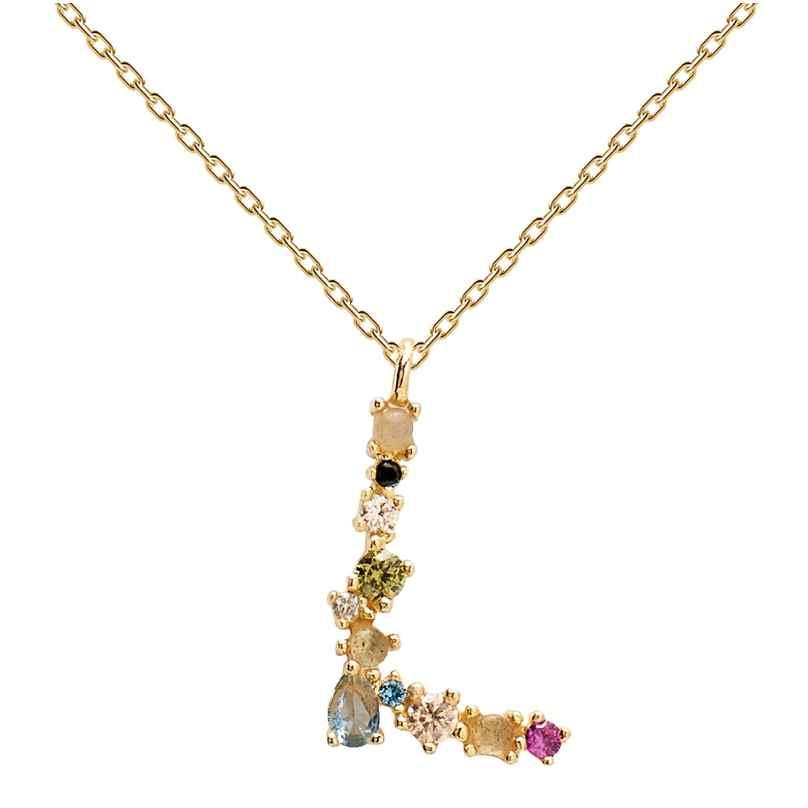 P D Paola CO01-107-U Damen-Halskette Buchstabe L 8435511709470