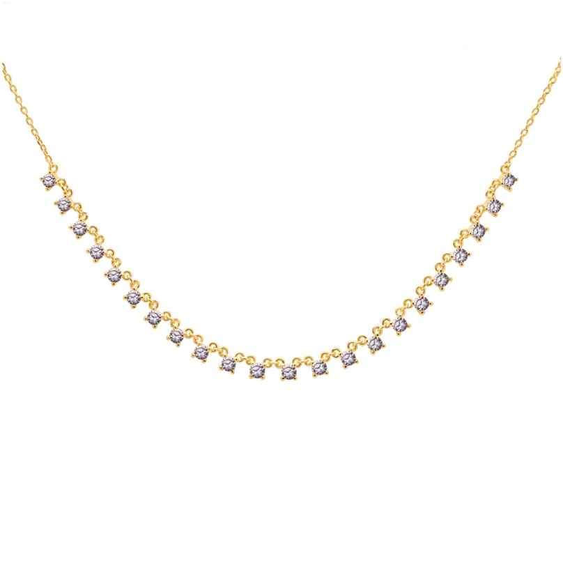 P D Paola CO01-184-U Women's Necklace Victoria Gold Plated Silver 8435511715792