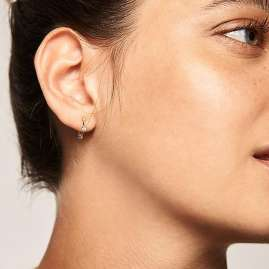 P D Paola AR01-084-U Women's Hoop Earrings Kaya
