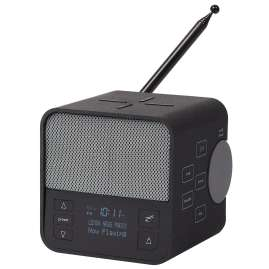 Lexon LA117GG Radiowecker Oslo News DAB+ FM Anthrazit/Grau