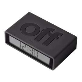 Lexon LR151G3 Alarm Clock Flip+ Travel Anthracite