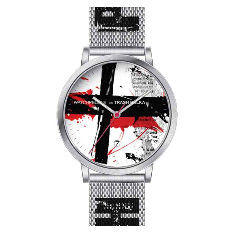 Watchpeople TP-003 Trash Polka Armbanduhr Acrux Limited Edition 4251511702976