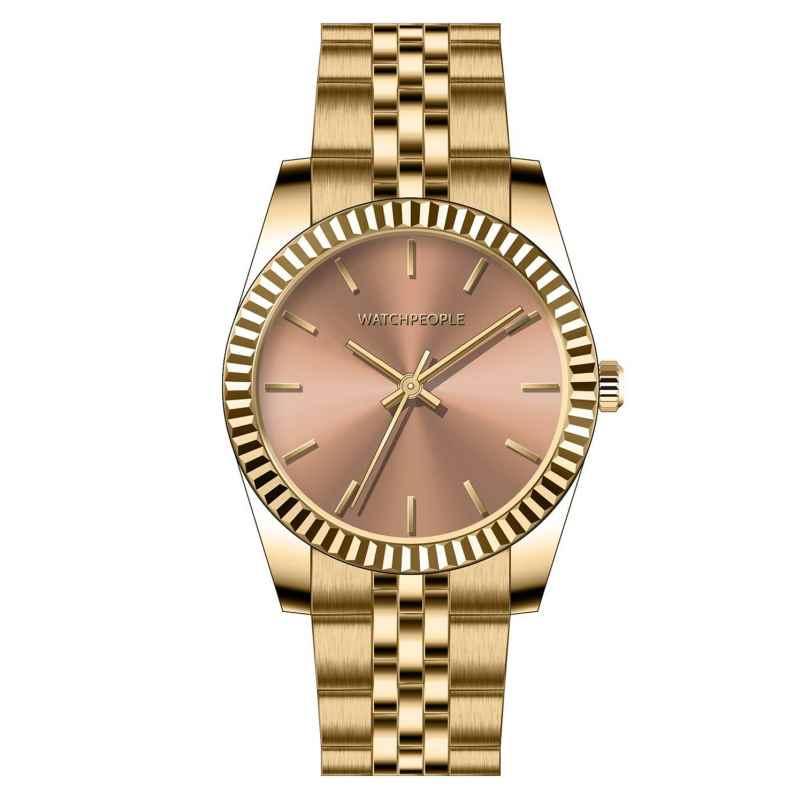 Watchpeople BSL030-01 Brown Sugar Damenuhr Grace Goldfarben 4251511706981