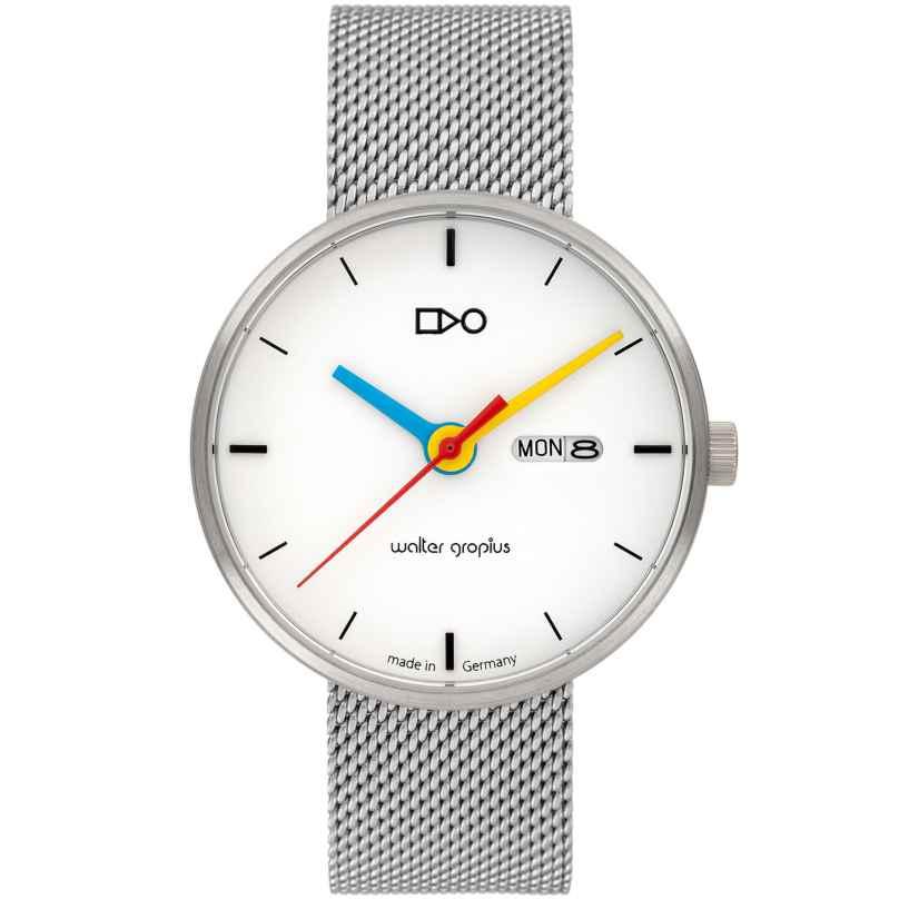 Walter Gropius WG007-03M Armbanduhr in Unisexgröße Simplex Meshband 4251511702211