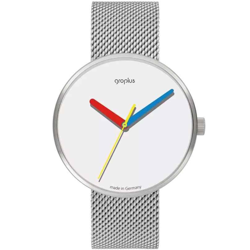 Walter Gropius WG017-01M Armbanduhr Simplex mit Meshband 4251511704406