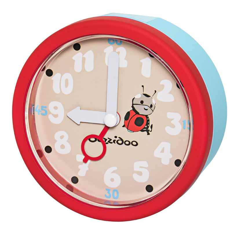 Duzzidoo MAK002 Children's Alarm Clock Ladybug 4045346096610